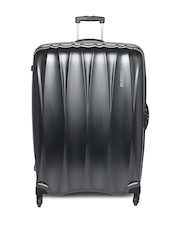 AMERICAN TOURISTER Unisex Gunmetal-Toned Arona Large Trolley Suitcase