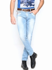 SPYKAR Men Blue Tight Fit Jeans