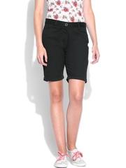 Inmark Women Black Shorts