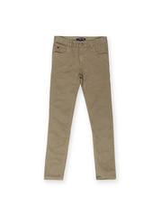 Allen Solly Junior Boys Brown Chino Trousers