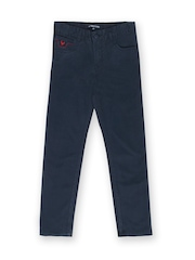 Allen Solly Junior Boys Navy Chino Trousers