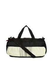 Red Chilli Unisex Black & Beige Gym Bag