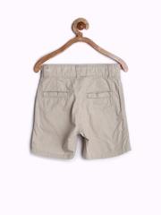 Gini and Jony Boys Beige Shorts