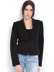 ONLY Women Black Single-Breasted Blazer