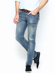 Jack & Jones Men Blue Slim Fit Jeans