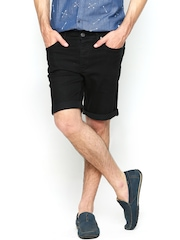 Jack & Jones Men Black Shorts