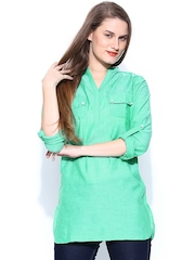 Style Quotient Women Green Tunic