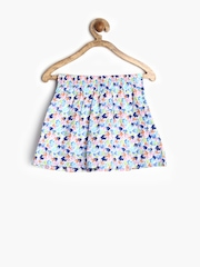 Dreamszone Girls Multicoloured Printed Flared Skirt