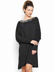 Wills Lifestyle Black Tailored Dress