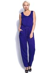 French Connection Women Blue Jumpsuit