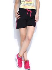 Ajile by Pantaloons Women Black Shorts