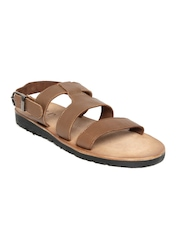 Louis Philippe Men Brown Sandals