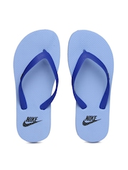 Nike Men Blue Aquaswift Flip-Flops