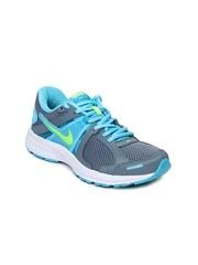 Nike Women Grey & Blue Dart 10 MSL Running Shoes