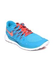 Nike Men Blue Free 5.0 Running Shoes