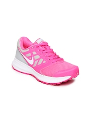 Nike Women Pink Downshifter 6 MSL Running Shoes