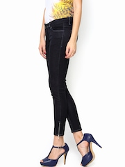 Lee Women Navy Maxi Skinny Fit Ankle Length Jeans