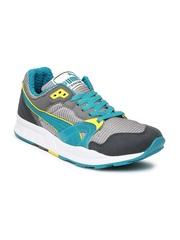 PUMA Men Grey & Silver-Toned Trinomic XT 1 Plus Training Shoes