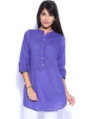 Fabindia Women Blue Tunic