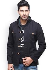 Men Black Jacket Yepme 676163