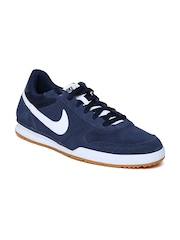 Nike Men Navy Field Trainer Suede Casual Shoes