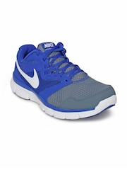 Nike Men Grey & Blue Flex Experience RN 3 MSL Running Shoes