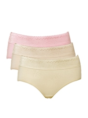 Red Rose Women Pack of 3 Briefs