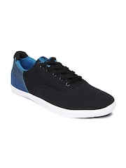 Roadster Men Black & Blue Casual Shoes
