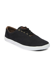 Roadster Men Black Casual Shoes