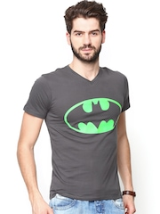 DC Comics Men Grey Printed T-shirt