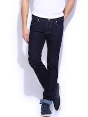 Wrangler Men Blue Skanders Fit Jeans