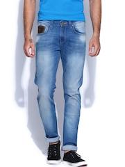 Wrangler Men Blue Vegas Skinny Fit Jeans