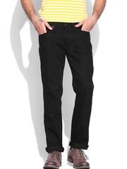 Wrangler Men Black Millard Slim Fit Jeans