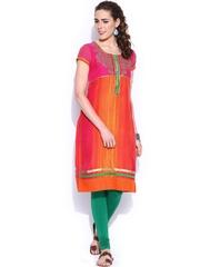 Anouk Women Multicoloured Printed Kurta