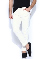 Levis Men Off-White 511 Slim Fit Jeans