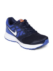 Nike Men Navy & Blue Downshifter 6 MSL Running Shoes