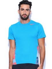 Nike Men Multicoloured Printed Training T-shirt