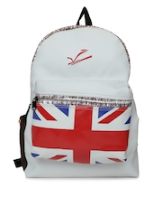 Veneer Unisex Grey Backpack