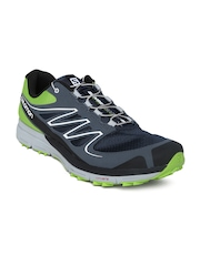 Salomon Men Navy & Grey Sense Mantra 2 Granny Running Shoes