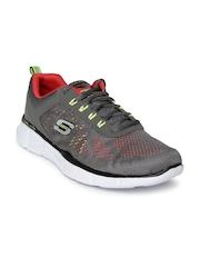 Skechers Men Grey Equalizer-Deal Maker Sports Shoes