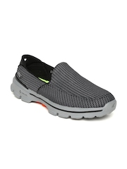 Skechers Men Grey GoWalk 3 Walking Shoes