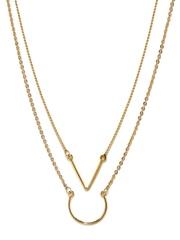 Vero Moda Set of 2 Gold-Toned Princess Necklaces