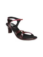 Bata Burgundy Heels