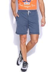 Proline Men Blue Melange Shorts