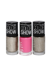 Maybelline Color Show Set of 2 Plus 1 Nail Polishes