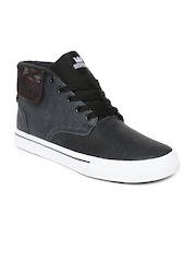 Supra Men Passion Grey Leather Casual Shoes