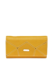 Lavie Women Mustard Yellow Wallet