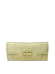 Lavie Women Muted Gold-Toned Wallet