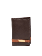 Hidesign Men Brown Leather Wallet