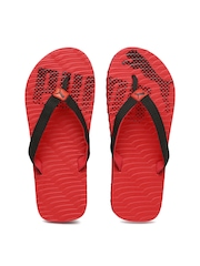 PUMA Men Red & Black Miami 6 DP Flip-Flops